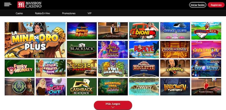 juegos de slot online en Mansion